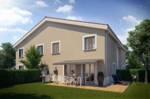 Villa Duplex T4 de 79,30m² avec jardin