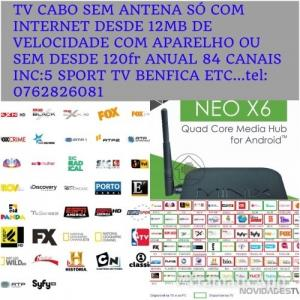 TVcabo com Sport TV HD incluidos