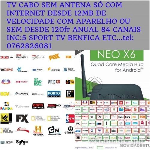 TVcabo com Sport TV HD incluidos