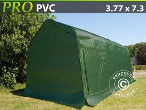 Zeltgarage PRO 3,77x7,3x3,24m PVC, Grün