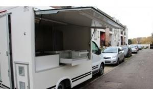 renault trafic food truck