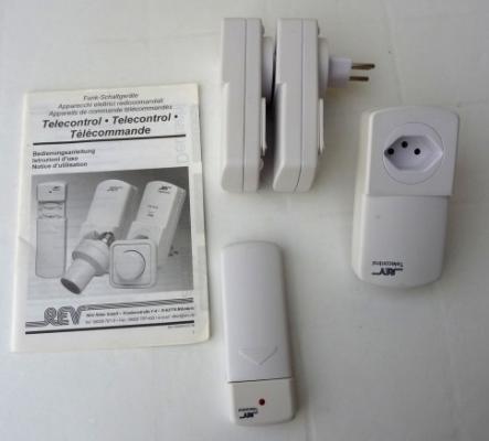Lampes  -  télécontrol pour luminosité