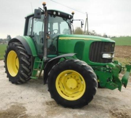 Tracteur John Deere 6520