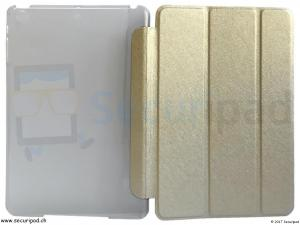 Etui / Fourre pour iPad Mini 1 2 ou 3 - Gold / Or brillant