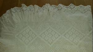 Couverture en crochet