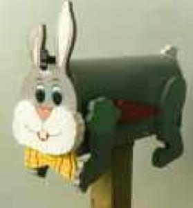 Boites aux lettres lapin