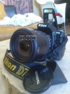 Nikon D700 + grip Nikon MB-D10 + objecti