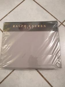 Housse de drap Ralph Lauren Gris