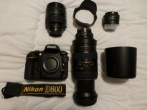Nikon D800 + Objectif