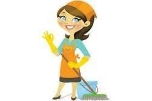 Femme sérieuse pour du ménage, repassage et cuisine