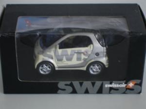 Smart Swissair 1:33 neuve dans son emballage d'origine