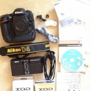 Nikon D4 20000 déclenchement OVP Monnaie