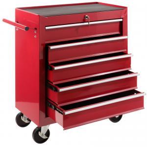 Chariot à outils 5 compartiments