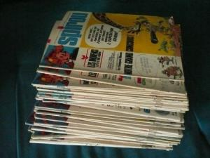 Lot de 200 hebdomadaires Spirou 1970-80