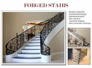 Escaliers en fer forgés