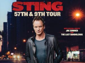 3 billets pour le concert de STING à Zürich