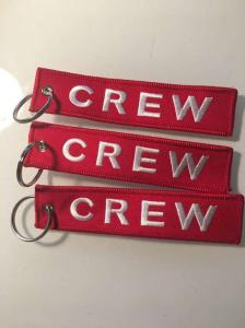 3 porte clés Crew (aviation)