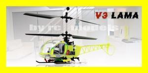 Hélicoptère RC Esky Lama V3 4 canaux