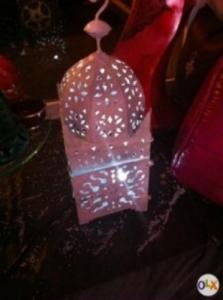 Lanterne en fer forgé (artisanat)