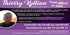 Thierry Kyllian médium de renon
