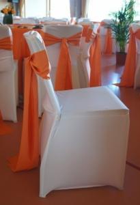 Housses de chaises en Spandex