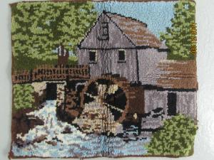 Tapis en laine fait main