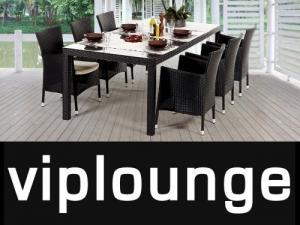 table de jardin 220cm avec 6 chaises