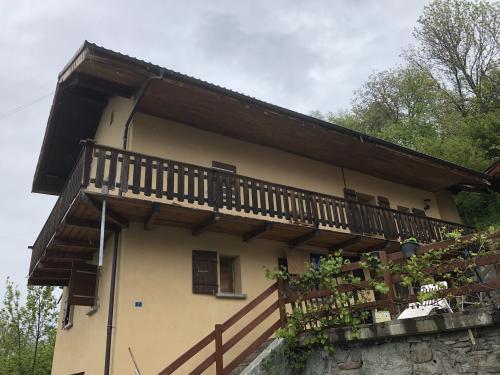 Appartement avec vue sur la plaine du Rhône