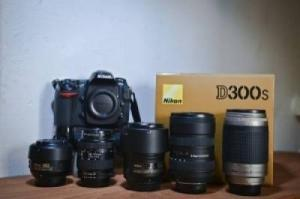 Nikon D300s + 5 Objectif Nikon-Sigma