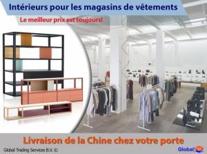 Mobiliers pour les magasins de vêtements de Chine