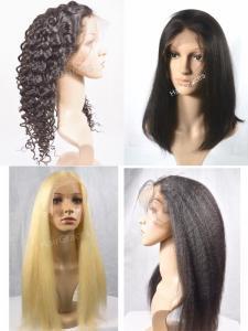 Lace perruque naturelle,  remy virgin hair blond