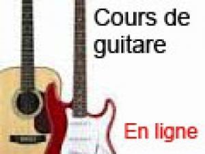 Cours guitare No1  en Ligne