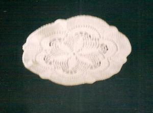 napperons rond fait au crochet