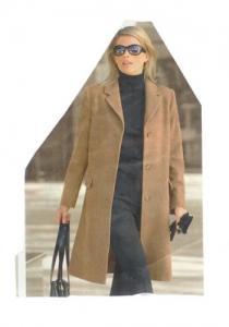 Long manteau très peu porté