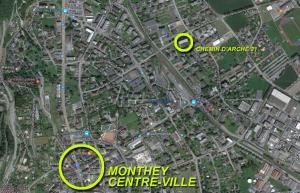Monthey - Arche 31 - Appt 2.5 p.