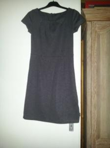 Robe toute simple grise taille S