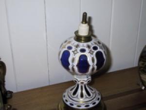 Brûle parfum en crystal de bohême