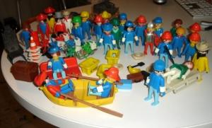 gros lot playmobil anciens troc possible