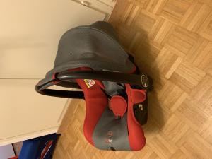 Siege auto et un sac accroche poussette - phils and teds