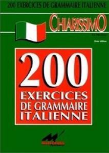 Exercices de grammaire italien + corrigé