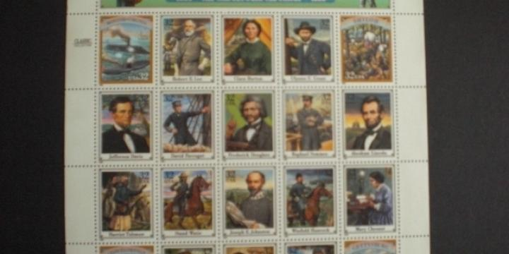 Feuillets Timbres  Légendes Hollywood