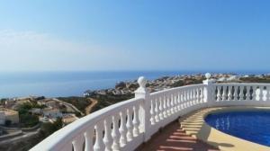 Villa avec 180 degrés vue mer