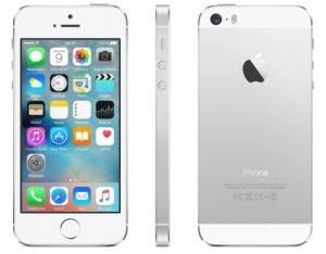 Iphone 5s Argent avec étuis