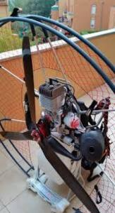 Paramoteur fly products max de Simonin