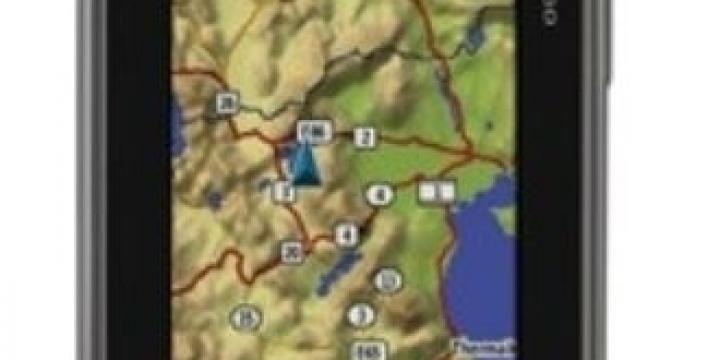 GPS OREGON 650t avec carte Swiss Topo - randonnée