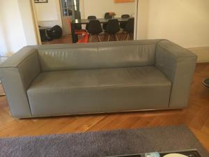 Canapé et fauteuil cuir design allemand