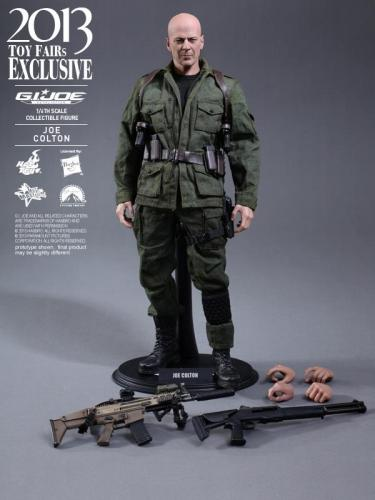 Hot toys joe colton GI Joe (Bruce Willis) 1/6