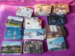 MSB : Lot de 220 Tax Card