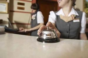 L'administrateur du petit hôtel