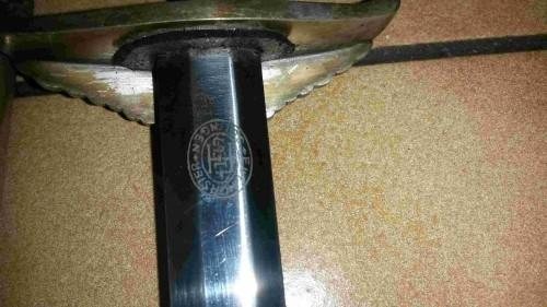 dague Diplomat origine, Horster